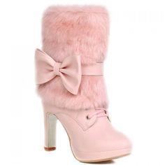 25.4$  Watch here - http://divvn.justgood.pw/go.php?t=156529116 - Fresh Style Lace-Up and Bowknot Design Short Boots For Women 25.4$
