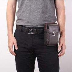 Casual & Outdoor Bags, Wallets – Page 2 – widezee Mens Waist Bag, Minimal Wallet, Leather Phone Case, Waist Pack, Mini Purse, Travel Packing, Chic Outfits, Men Casual, Bags