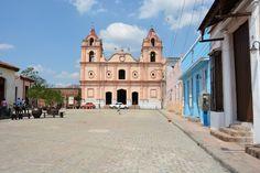 Iglesia del Carmen in The Plaza del Carmen, Camaguey, Cuba.