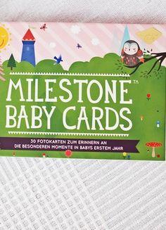 Kaufe meinen Artikel bei #Mamikreisel http://www.mamikreisel.de/bucher-und-schule/fur-babys-slash-bis-1-jahr/48487177-milestone-baby-card-original
