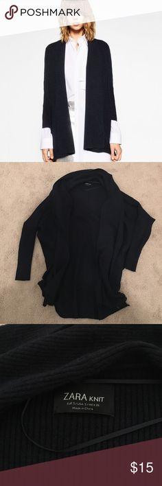 Spotted while shopping on Poshmark: Zara Ribbed Cardigan Jacket! #poshmark #fashion #shopping #style #Zara #Sweaters