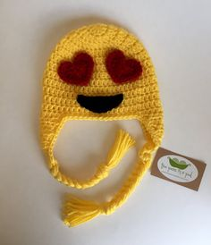 Crocheting Emoji : ... Baby and Kid Crochet on Pinterest Beanie, Free Crochet and Crochet