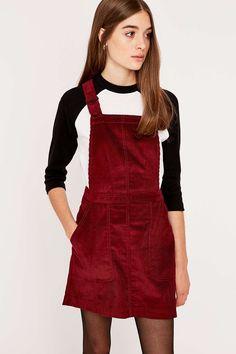 BDG Corduroy Pinafore Dress |||| I want this dress!!!!