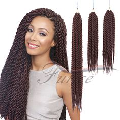 Aliexpress.com : Buy Havana Mambo Twist Crochet Pretwist Hair Havana Twist Crochet Braids Afro Extension hair for senegalese twist Beauty from Reliable hair coloring color wheel suppliers on crochet braiding hair extension Store Havana Braids, Twist Braids, Crochet Hair Styles, Crochet Braids, Havana Mambo Twist Crochet, Braid In Hair Extensions, Braided Hairstyles, Afro, Dreadlocks