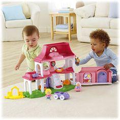 I giocattoli Little People di Fisher-Price sono sempre i migliori nel conquistare il cuore e l'immaginazione dei piccoli. I giocattoli Little People sono ambientati in un adorabile mondo pieno di meravigliose avventure e grandi amici da conoscere giorno dopo giorno!