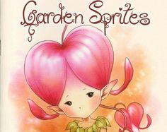Fantasy Art Coloring Book with 19 Images Gardens & by AuroraWings