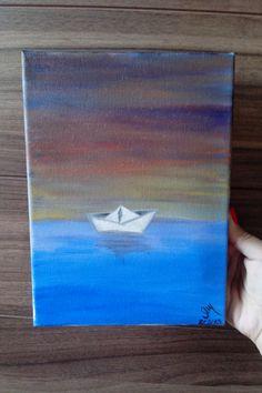 Um barquinho a velejar - Gabriela Monteiro
