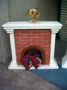 Navidad on pinterest - Chimeneas artificiales decorativas ...