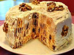 Торт «Трухлявый пень» / Простые рецепты
