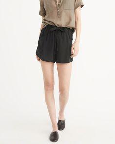 Drapey Shorts