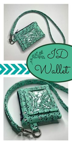 This popular wallet style is perfect for everyday! Get your pattern info and tips on all your supplies to make your own Kristine ID Wallet! Wallet Sewing Pattern, Sewing Patterns Free, Free Sewing, Diy Wallet Pattern Free, Tote Pattern, Purse Patterns, Sewing Basics, Sewing Hacks, Sewing Tutorials