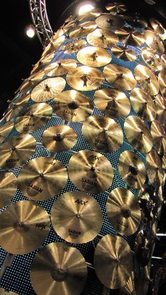 Sabian cymbal tower  NAMM 2013  #NAMM #Music