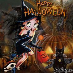 Betty Boop Halloween   Betty Boop Halloween Picture #133498670   Blingee.com