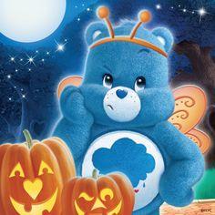 Happy Halloween from the CareBears Mickey Halloween Party, Halloween Ii, Happy Halloween, Cartoon Charecters, Care Bear Tattoos, Grumpy Care Bear, Care Bears Vintage, Care Bear Party, 1980s Kids