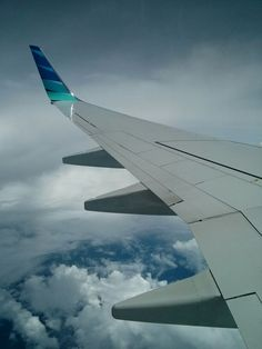 winglets on Garuda Indonesia Airlines