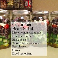Try New Ingredients, How to Make Mason Jar Salads