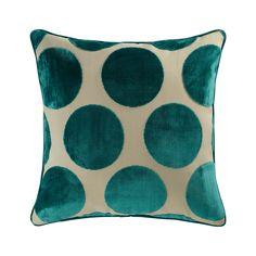 Coussin vert 45 x 45 cm CICER