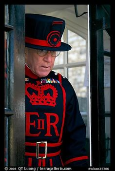 Yeoman Warder (Beefeater) Tower of London