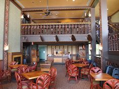 Club Concierge Level Lounge ~ Disney Polynesian Resort    Walt Disney World
