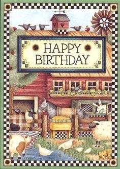 ┌iiiii┐                                                              Happy Birthday                                             Debbie Mumm - Carla Simons