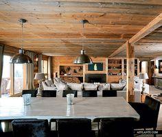 Chalet in Crans-Montana, Swiss Alps // Maria Wenger | Afflante.com