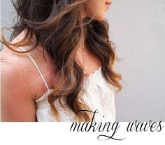 making waves: curling with a flat iron