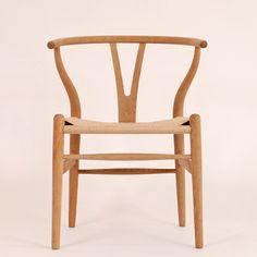Hans J. Wegner's Y-chair in soaped oak