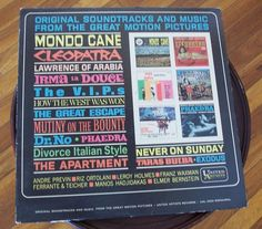 Original Soundtracks and Music from Great Motion Pictures UAL 3303 Monaural LP33 #FilmScoreSoundtrack