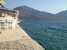 Απόγευμα στον Μύτικα. Mountains, Beach, Water, Travel, Outdoor, Water Water, Outdoors, Aqua, Viajes