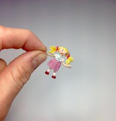 Miniature 1/4 1:48 Quarter Inch Scale Looby Loo or 12th Dolly From Andy Pandy…