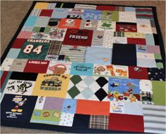 Baby Onesie Quilt – How To Make Keepsake Quilt From Baby's Clothes