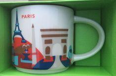 Paris   YOU ARE HERE SERIES   Starbucks City Mugs