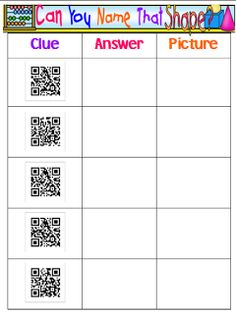 Transforming Teaching and Learning with iPads: QR Codes - More Ideas!!