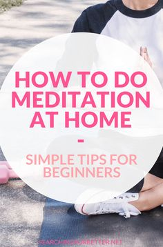 These tips are great for beginners who want to learn mediation at home. Practice finding your calm and decrease stress with these simple ways to start meditating. How To Do Meditation, Meditation Steps, Meditation For Anxiety, Learn To Meditate, Meditation For Beginners, Meditation Benefits, Chakra Meditation, Meditation Music, Mindfulness Meditation