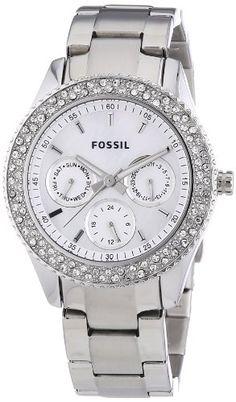 Sale Preis: Fossil Damen-Armbanduhr Ladies Dress Analog Quarz ES2860. Gutscheine & Coole Geschenke für Frauen, Männer und Freunde. Kaufen bei http://coolegeschenkideen.de/fossil-damen-armbanduhr-ladies-dress-analog-quarz-es2860
