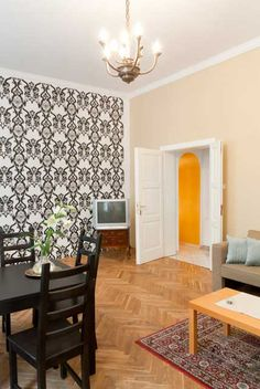 Prague Apartment Mozart Historic  Nice atypical apartment in house famous for the fact that there was living W. A. MOZART when he was visiting Prague between the years 1787 to 1791.