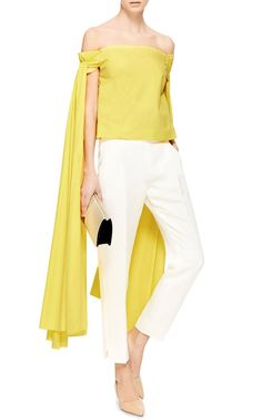 Helicopter Cotton Top by Rosie Assoulin - Moda Operandi