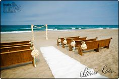 Outer Banks Weddings, OBX Weddings, Beach Wedding, OBX Wedding Photography, Outer Banks Wedding, Wedding ceremony on beach at The Sanderling in Duck, NC