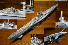 Papercraft4u | Free Papercrafts,    Das ist unser Boot U96 - WWII German U-boat