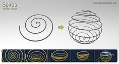 In this tutorial we are going to explain how to make a transformation animation (morphing) between 2 shapes created with Spiros. At Spiros' introductory video, there's an animation in wich a spiral…