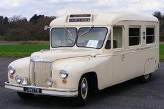 Daimler LRW178 ambulance dates from 1951