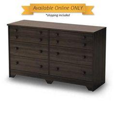 POPULAR 6-Drawer Double Dresser