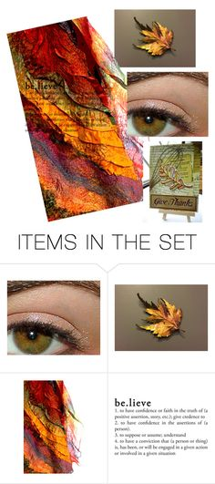 """""""Believe in Hope"""" by joliefemmefashions ❤ liked on Polyvore featuring art"""