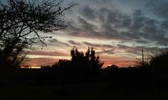 Coucher de soleil octobre 2017