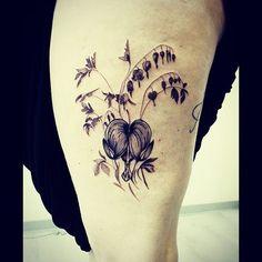 I like the Bleeding hearts.. maybe In honor of my ...