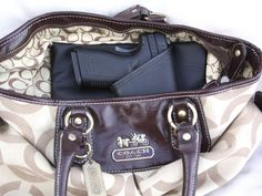Large Auto Concealed carry purse holster by CreativeConceal