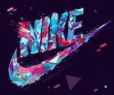 Nike por Anton Moek, a través de Behance