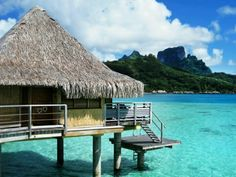 bora bora! i will go here one day!