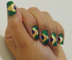 Modelos mais usados de unhas decoradas para a Copa do Mundo | Fica a Dica