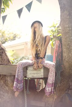 "We are loving this SoftPant trend! -Spell & The Gypsy Collective ""Last Days of Summer"" LookBook"
